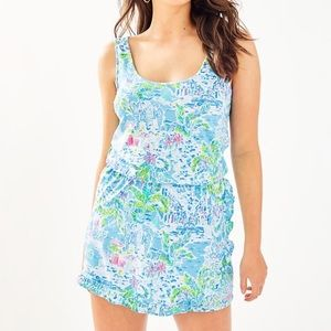 Lilly Pulitzer Analee Romper What a lovely Place